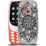 Pouzdro HEAD CASE Nokia 3310 Mandala Doodle Paper