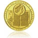Česká mincovna Zlatá investiční mince Jan Hus a John Wycliff 62,2 g