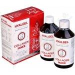 Hyalgel Collagen MAXX vánoční balení 2018 2 x 500 ml