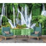 Coloriqa fototapeta Vodopád v lese 2387 Materiál: Vliesová tapeta, Rozměr: 208 x 146 cm L