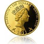 Česká mincovna Zlatá investiční mince Generál Peřina 139,5 g
