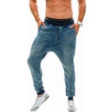 Bolf džínové pánské baggy kalhoty 004 tmavě modré 783ca1d96e