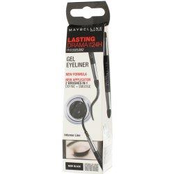 Oko Maybelline Eye Studio Lasting Drama gelové oční linky 24H 1 Intense Black 2,8 g