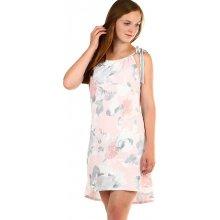 TopMode krátké dámské šaty s potiskem světle růžová ca59d9fe34