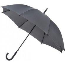 Pánský holový deštník York šedý