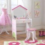 KidKraft kosmetický stolek s židličkou Domeček