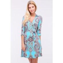 990 Kč Prima Butik. Revdelle letní šaty Diane tyrkys barevná modrá ce98fbf3e9