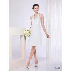 3a8819f961a krátké svatební Společenské šaty do tanečních na ples Bílé ...