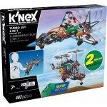 KNEX Letadlo Turbo Jet 2 v 1