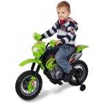 Kids World Elektrická motorka Enduro-zelená