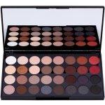 Makeup Revolution Flawless Matte 2 paleta očních stínů se zrcátkem 32 Ultra Professional Eyeshadows 20 g