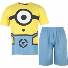 Character short PJ set mens Minions