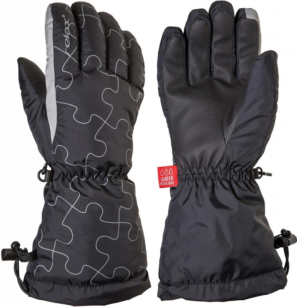 46866094922 Relax Puzzy RR15B - junior lyžařské rukavice s membránou prstové