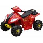 vidaXL 80053 Elektrická čtyřkolka pro děti červená s černou barvou