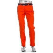 ALBERTO ROOKIE Waterrepellent Golf Pants 2018, oranžová