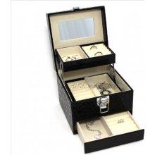 JKBox Black SP252-A25 šperkovnice