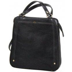 Katana 66806 noir dámský luxusní kožený batůžek černý 97c3d36188