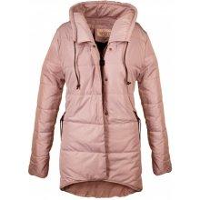 Bh Forever dámská bunda asymetrická růžová 627d0c39491