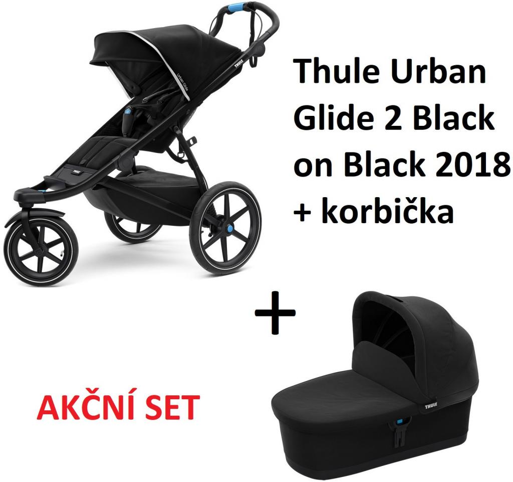Thule Urban Glide 2 Black on Black 2018 + korba