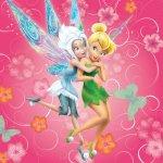 Jerry Fabrics Polštář Fairies pinkie 2014 40x40