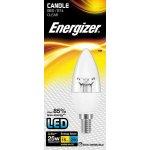 Energizer LED žárovka svíčka 3,4W Eq 25W E14 S8847 clear čirá Teplá bílá