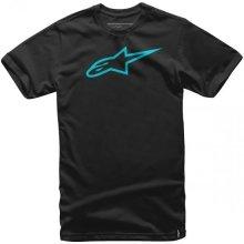 Alpinestars Pánské černo-modré tričko AGELESS CLASSIC TEE krátké 1032-72030 1076