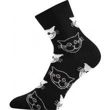 Boma dámské ponožky Xantipa kočka černá 9e8917bc3a