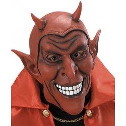 Latexová maska čerta červená od 291 Kč - Heureka.cz 1ca47bae04