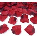 Okvětní lístky růží tm. červené 500ks
