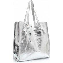 ee665b6f7ed Shopper bags kosmetickou kapsičkou Silver