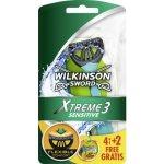 Wilkinson Sword Xtreme 3 Sensitive 6 Ks
