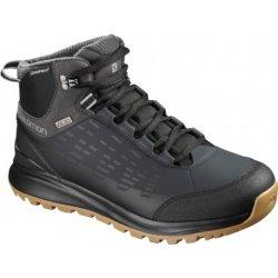 Salomon Kaipo CS WP 2 black phantom monument 404717 pánské zimní  nepromokavé boty b29d324286