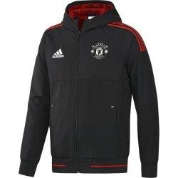 0b06eec54a Adidas bunda Manchester United presentation černá