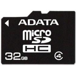 ADATA Micro SDHC karta 32GB Class 4 AUSDH32GCL4-R