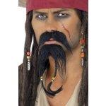 Knír a bradka pirát Jack Sparrow