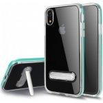 Pouzdro AppleKing hybridní se stojánkem iPhone XR - zelené 1f04e556a57