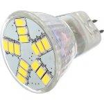 Lighting LED žárovka 3W 12V MR11 210lm 15 SMD 5630 čistá bílá
