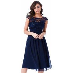 Goddiva společenské šaty krátké modrá od 1 699 Kč - Heureka.cz 8bbb5ee4ed