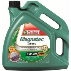 Mazivo, olej, sprej Castrol Magnatec Diesel DPF 5W-40, 4 l