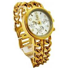 Bellos Extravagant zlato-bílé 299D