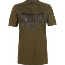 Everlast Geometric Print T Shirt Mens Khaki Geo