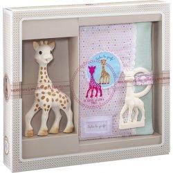 cd6d20642c4c VULLI Můj první dárkový set žirafa Sophie pouzro a kousátko od 1 241 Kč -  Heureka.cz