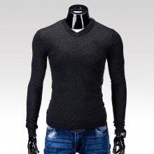 Ombre Clothing pánský svetr Verel černý