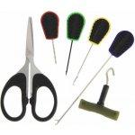 NGT Baiting Needle & Scissor Set 6ks