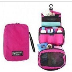 Cestovní kosmetická taška růžová - 369
