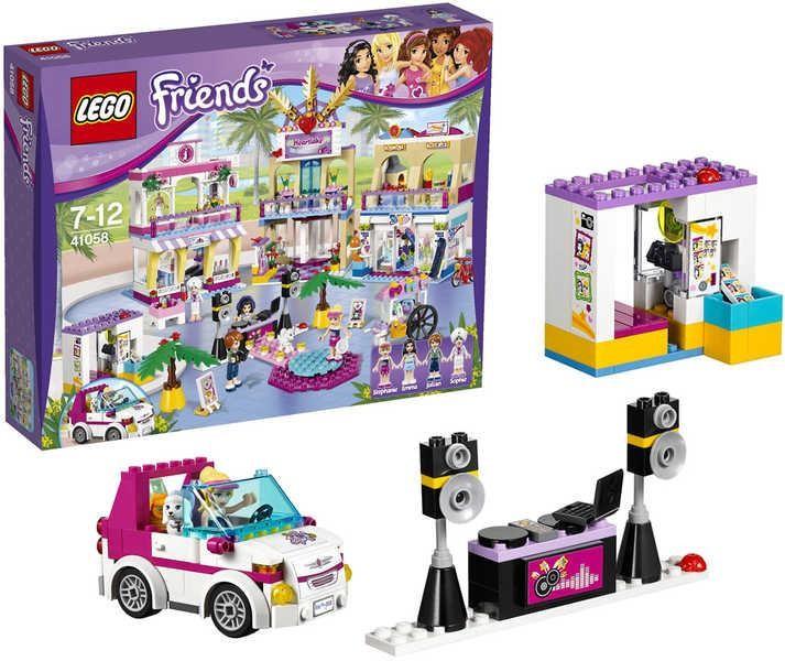 b218b5a2f Rezervace - Poradna Lego Friends 41058 Obchodní zóna Heartlake - Heureka.cz