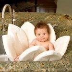 Bloomingbath™ Kvetoucí koupel béžová