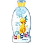 Bobini 3v1 dětský šampon s.g. a pěna sensitiv 400 ml