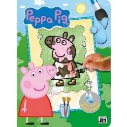 Prasátko Peppa Velké omalovánky ve formátu A4