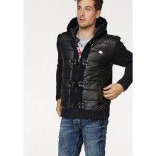 Cipo & Baxx Pletený svetr, černá